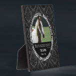 """Memorial - Loss of Horse - Custom Photo/Name Plaque<br><div class=""""desc"""">Insert your horse&#39;s photo,  name and birth/death dates in this custom plaque to memorialize your beloved pet.</div>"""