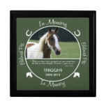 Memorial - Loss of Horse Keepsake Box