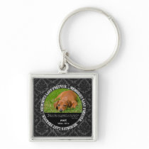 Memorial - Loss of Pet or Family Custom Photo/Name Keychain