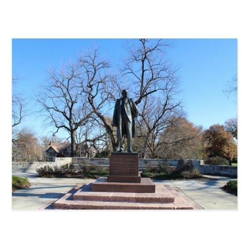 Memorial Park flojo # 33 Postal