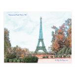 """Memorial Park"" Paris, TN, Post Card"