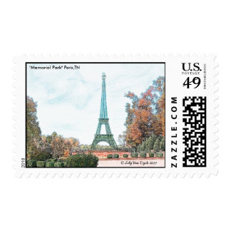 """Memorial Park"" París, TN Franqueo"