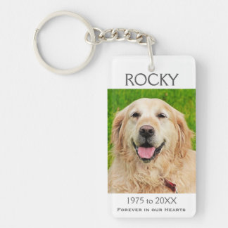Memorial | Pet Keychain