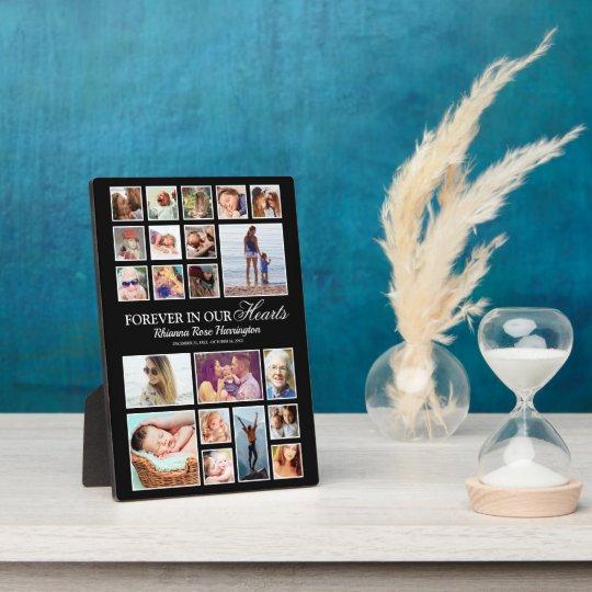 Memorial Photo Collage Plaque
