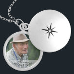 """Memorial Photo Forever In Our Hearts Keepsake Locket Necklace<br><div class=""""desc"""">Just edit with a photo of your choice for a lasting memory of a loved one who is now in heaven. The text reads """"Forever In Our Hearts"""" and makes a lovely gift for anyone who has lost someone special to them.</div>"""