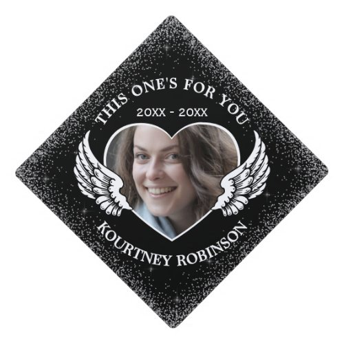 Memorial Photo Graduation Cap Topper