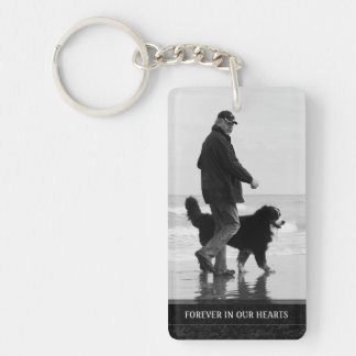 Memorial Photo Keychain - Remembering You