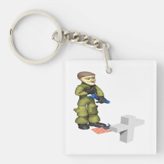 Memorial png acrylic keychain
