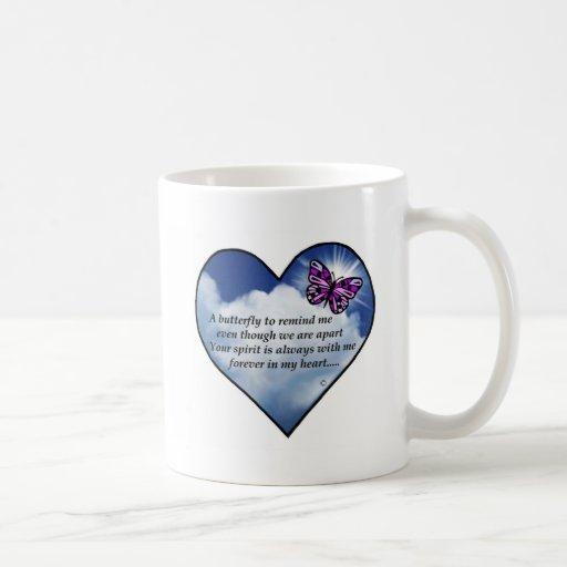 Memorial Poem Classic White Coffee Mug