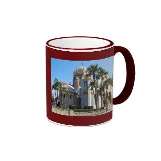 Memorial Presbyterian Church St. Augustine, Fl Ringer Mug