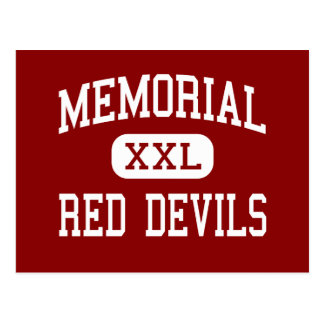 Memorial - Red Devils - High - Campbell Ohio Postcard