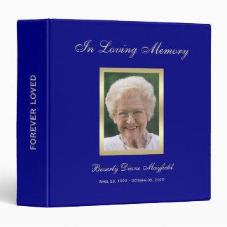 Memorial Remembrance Book - Personalized Binder