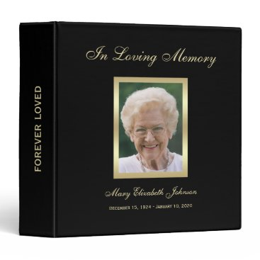 sympathythankyou Memorial Remembrance Books - Personalized Binder
