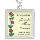 Memorial Roses Necklace