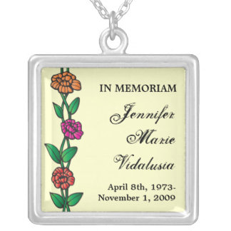 Memorial Roses Necklace