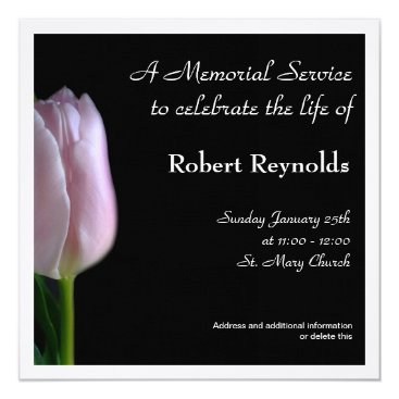 floralsympathy Memorial Service Announcement
