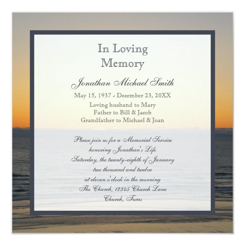 Funeral Invitation Letter,Invitation.Invitation Card