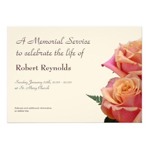 1,000+ Memorial Service Invitations, Memorial Service ...