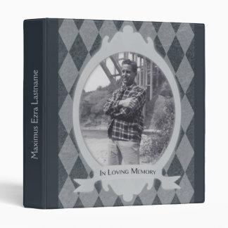 memorial service guest book binder