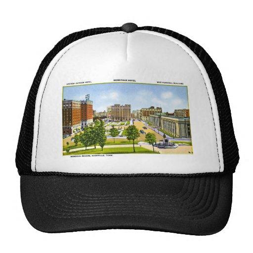 Memorial Square, Nashville, Tennessee Trucker Hat