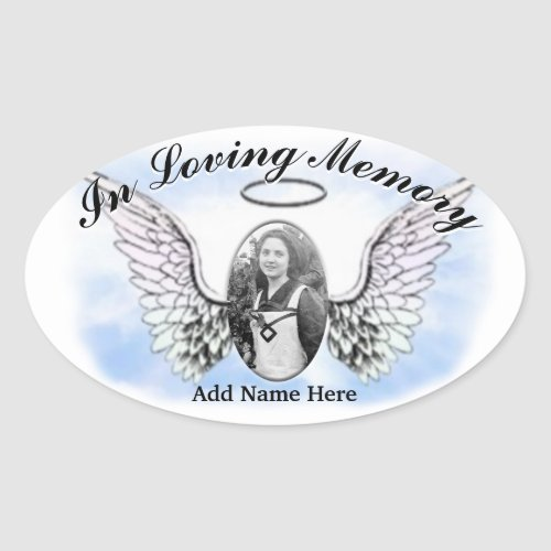 Memorial Sticker _ Add Photo
