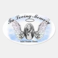 Memorial Sticker - Add Photo