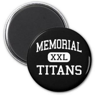 Memorial - Titans - High - Port Arthur Texas Magnet