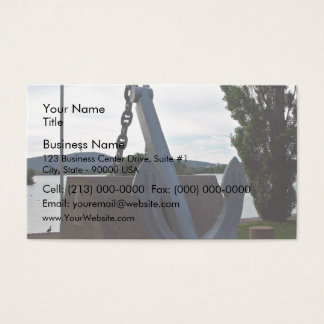 Memorial to those lost at sea business card