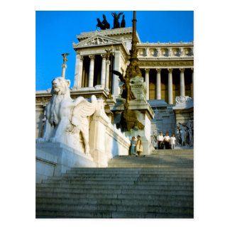 Memorial to Vittorio Emmanuele II Postcard
