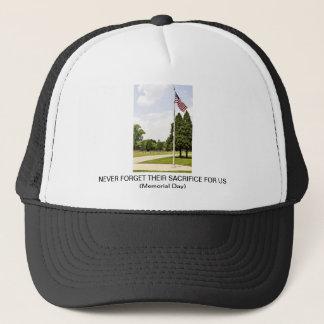 Memorial / Veterans Day Tribute Trucker Hat