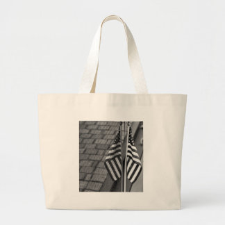 Memorial Wall Large Tote Bag