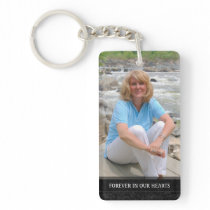 Memorial - White Back - Special Memories of You Keychain