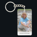 "Memorial - White Back - Special Memories of You Keychain<br><div class=""desc"">Remembrance KeyChain - Special Memories of You Customize with Your Photo and Personlize Text BACK OF KEYCHAIN: This Memorial Photo Key Chain is a lovely way to remember a cherished loved one. This key chain is two (2) sided and features customization with your photo on the front. On the back...</div>"