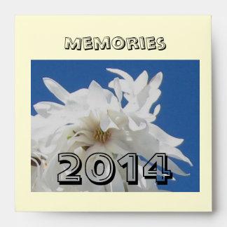 Memorias (2014) en sobre de DVD/cd