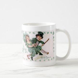 Memorias alegres del vintage taza