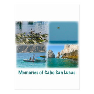 Memorias de Cabo San Lucas Tarjeta Postal