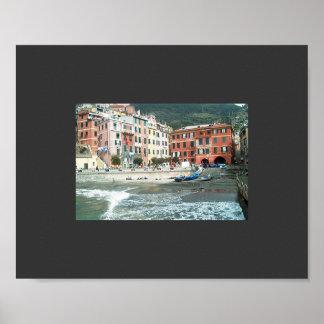 Memorias de Italia - Cinque Terre antes de la torm Poster