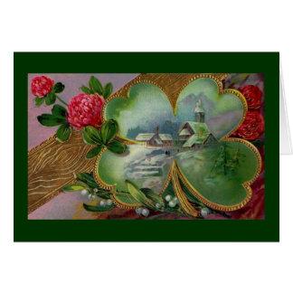 Memorias de la tarjeta de felicitación de Irlanda