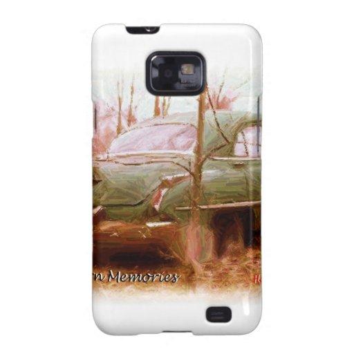 memorias de la yarda de granero de Oldsmobile de l Samsung Galaxy S2 Fundas