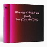 Memorias de los amigos y de la familia - carpetas
