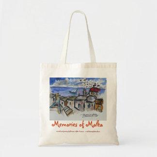 Memorias de Malta Bolsa Lienzo