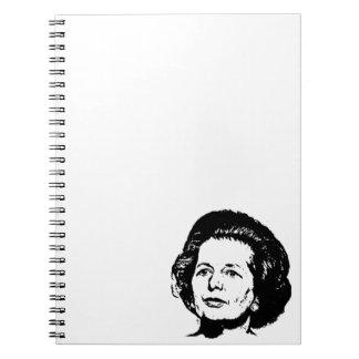 Memorias de Margaret Thatcher Cuaderno