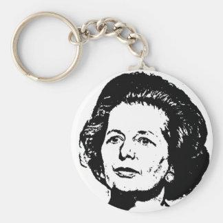Memorias de Margaret Thatcher Llavero Redondo Tipo Pin