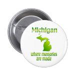 Memorias de Michigan Pin