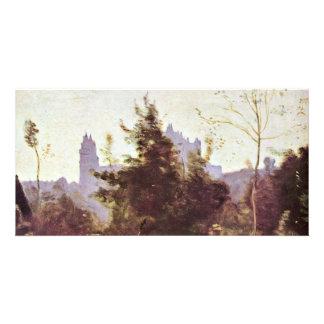 Memorias de Pierrefonds por la Jean-Baptiste-Leva Tarjeta Personal