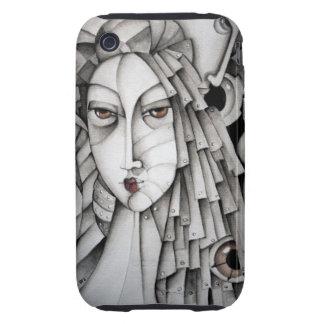 Memorias de un caso del iPhone 3G/3GS del geisha iPhone 3 Tough Cobertura