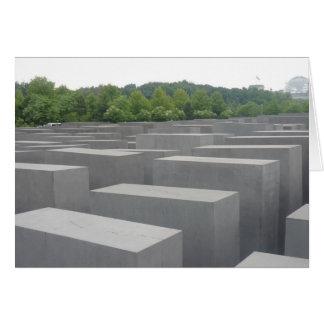 memorias del holocausto de Berlín Tarjetas