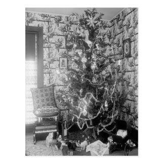 Memorias del navidad del vintage tarjeta postal