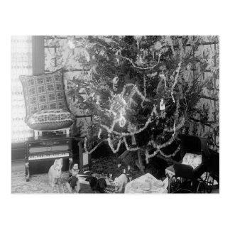 Memorias del navidad del vintage tarjetas postales