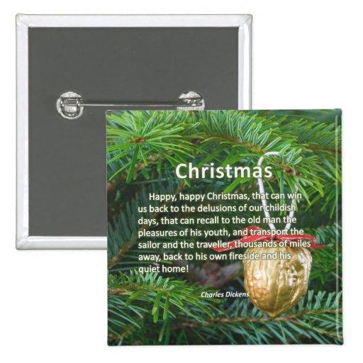 Memorias del navidad pins